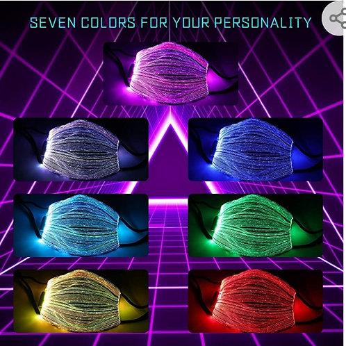 LED Designer Breathable Face Mask