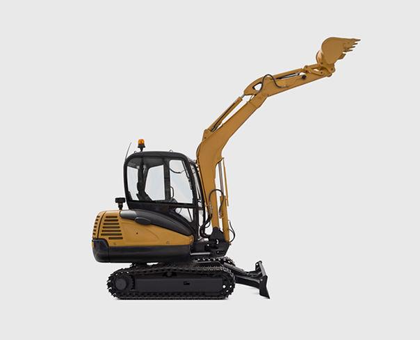 Small excavator example