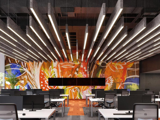 Improving acoustic comfort with revolutionary luminaires