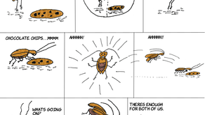 Cucaracha Tales - Cookie Fight