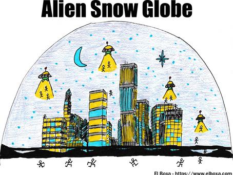 Alien Snow Globe