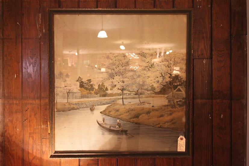 Asian Painting on Silk