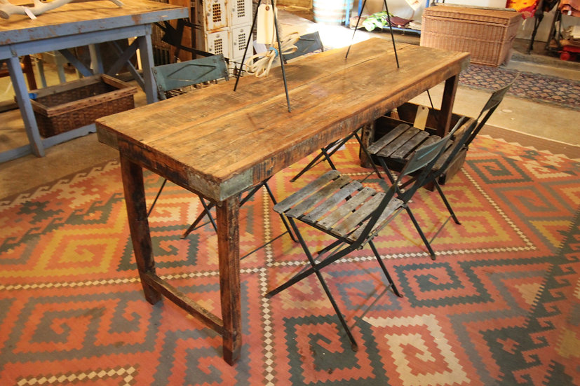 SOLD - Solid Wood Folding Table
