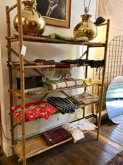 SOLD - Rattan Shelf