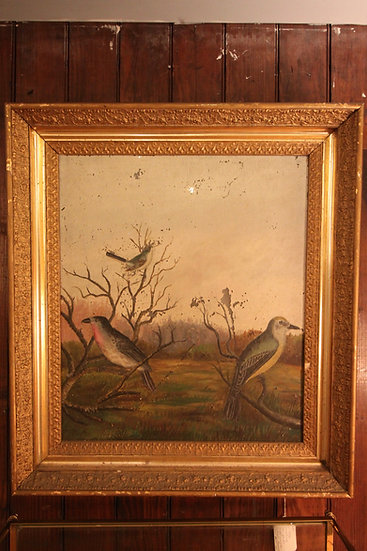Antique Painting on Glass