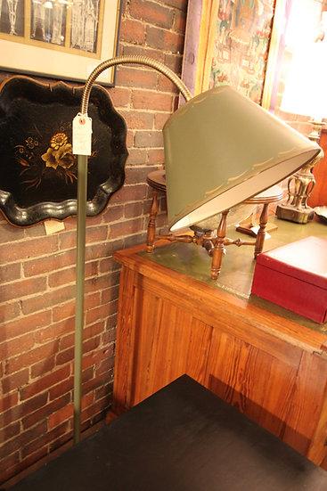 Green Gooseneck Floor Lamp