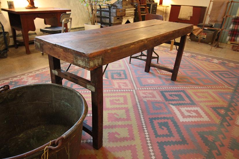 Hardwood Folding Table