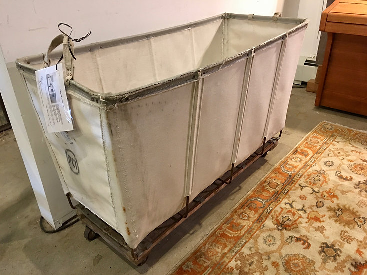 SOLD - Industrial Laundry Cart