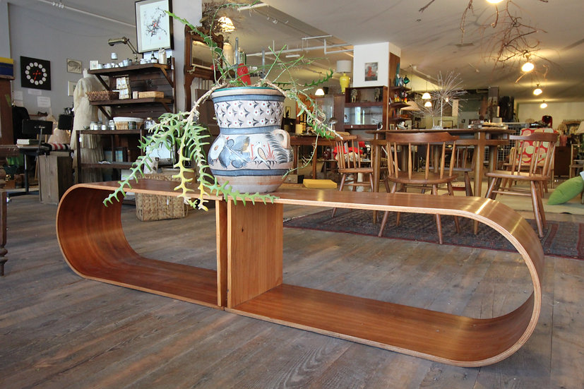 SOLD - Set Bentwood Shelves/Console/Coffee Table