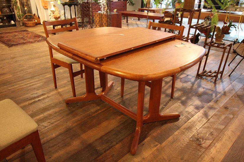 Mid-Century Cherry Dining Table