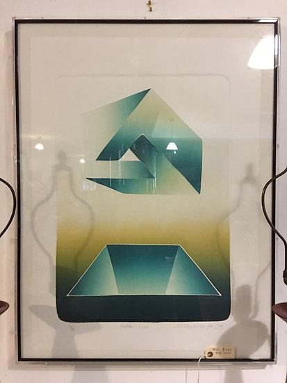 Modern Numbered Print
