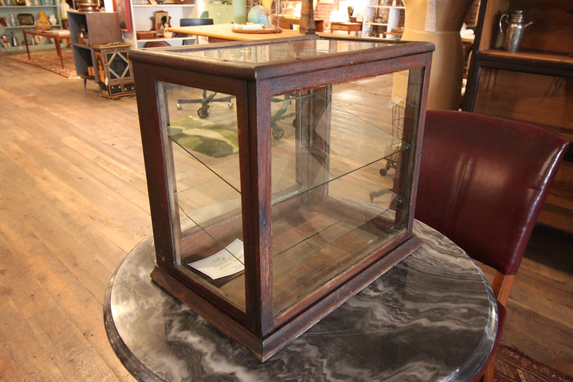 SOLD - Antique Display Case