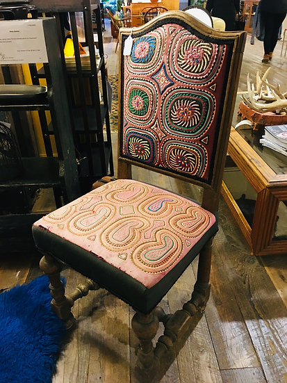 SOLD - Antique Spanish Chair