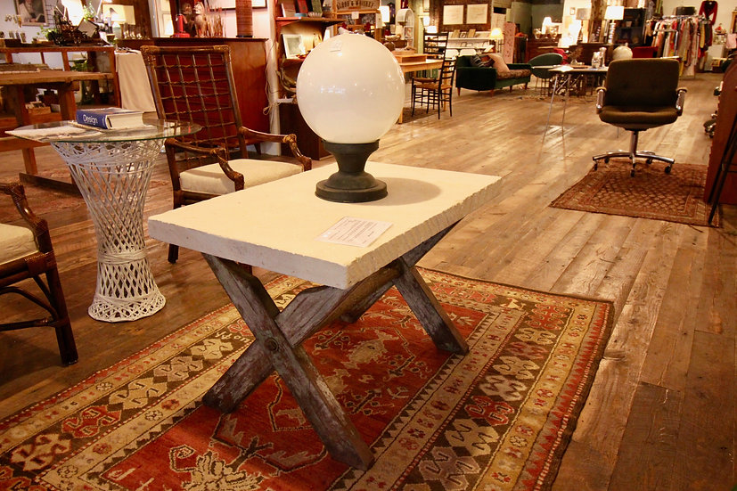 SOLD - Travertine Coffee Table