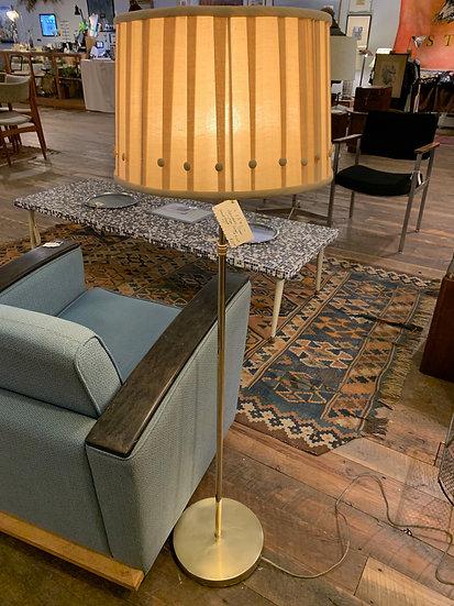 Brass-Plated Floor Lamp