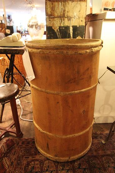 Large Bentwood Barrel