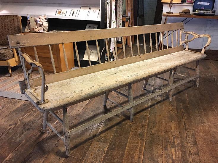 Antique Railroad Bench