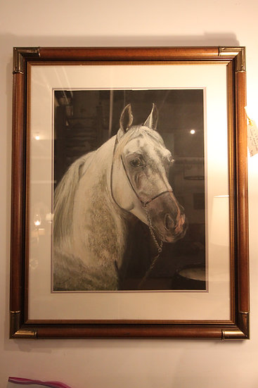 Pastel of a Horse