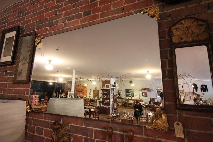 Large Nouveau-Style Mirror