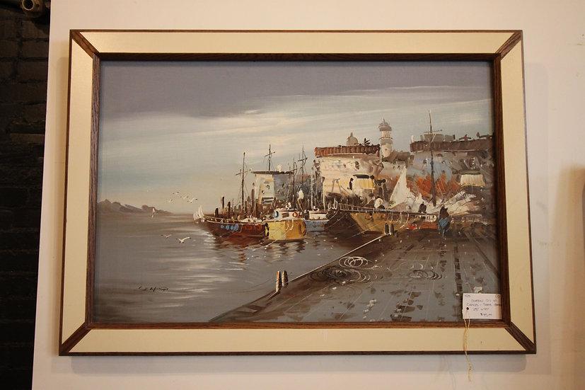 Coastal Oil on Canvas