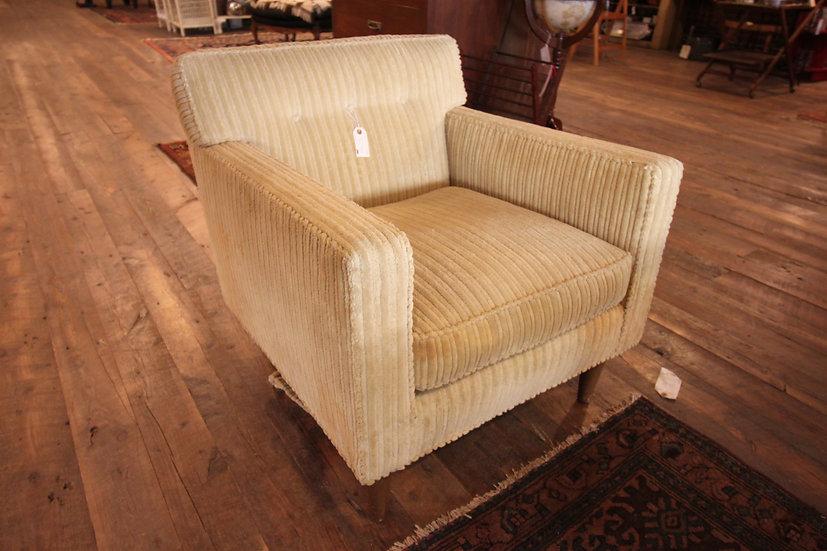 SOLD - Mid-Century Corduroy Armchair