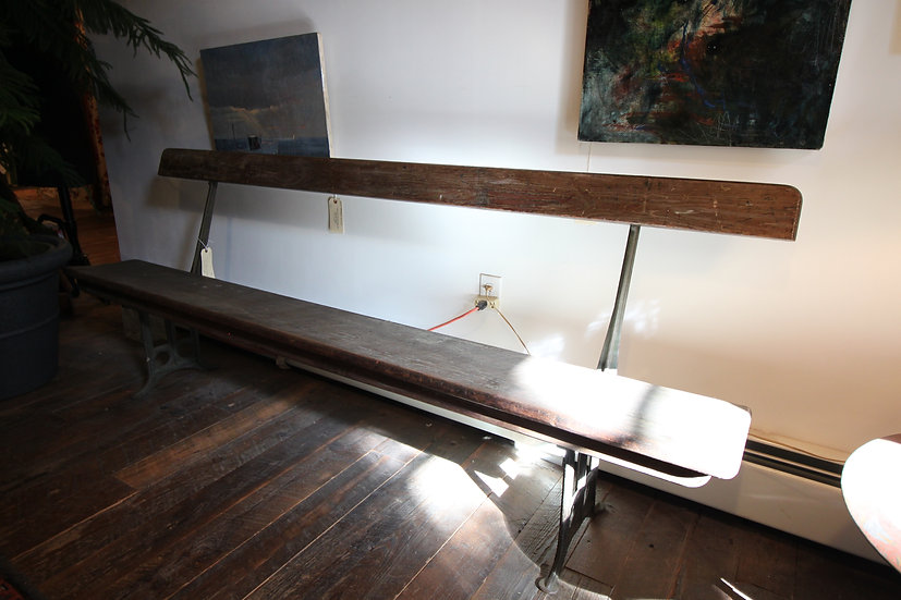 SOLD - Railroad Bench