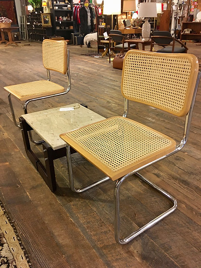 Pair Cesca-Style Chairs