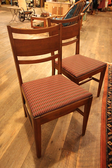 SOLD - Mid-Century Set (5) Dining Chairs