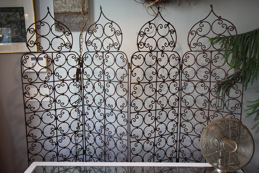 Ornate Iron Screen