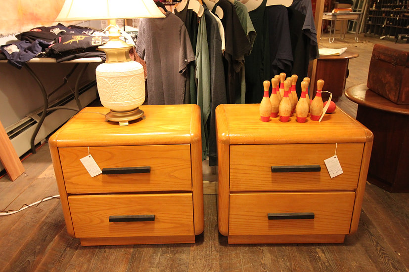 Mid-Century Side Tables (2 Available)