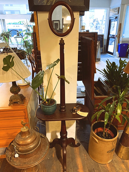 Antique Mahogany Shaving Stand