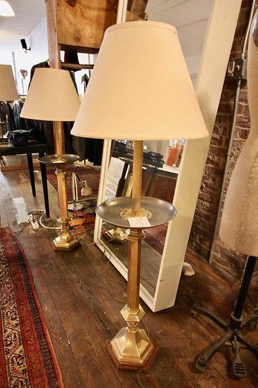 Brass Floor Lamp (2 Available)
