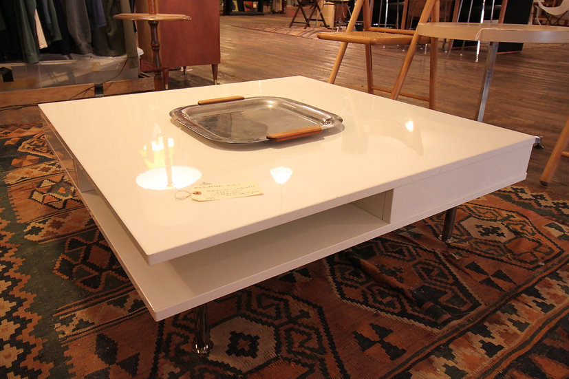 SOLD - Modern Lacquered Coffee Table