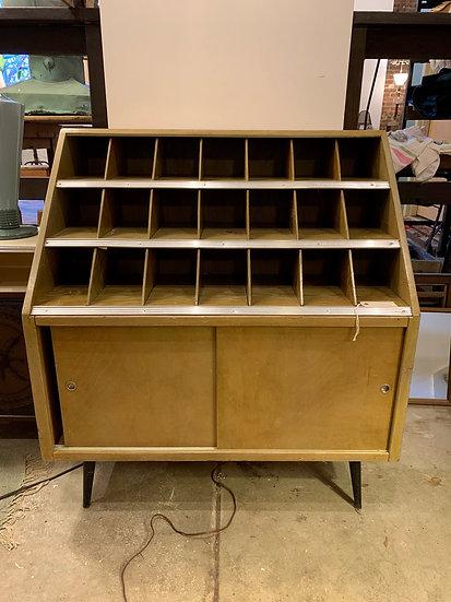 Mid-Century Cubby Cabinet