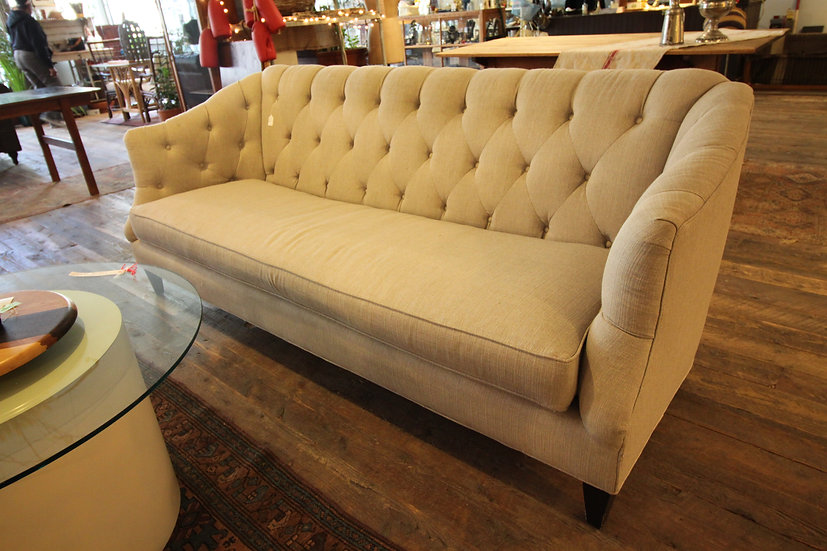 SOLD - Contemporary Tufted Sofa