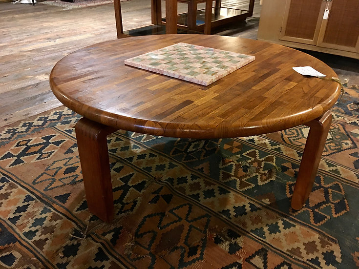 SOLD - Danish Modern Patchwork Coffee Table