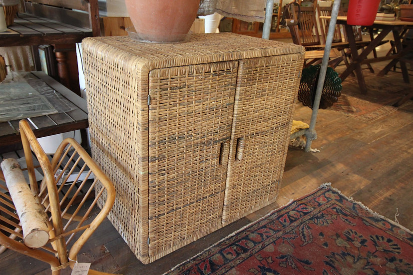 SOLD - Caned Cabinet