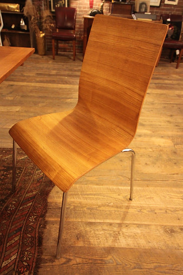 SOLD - Pair Molded Plywood Chairs