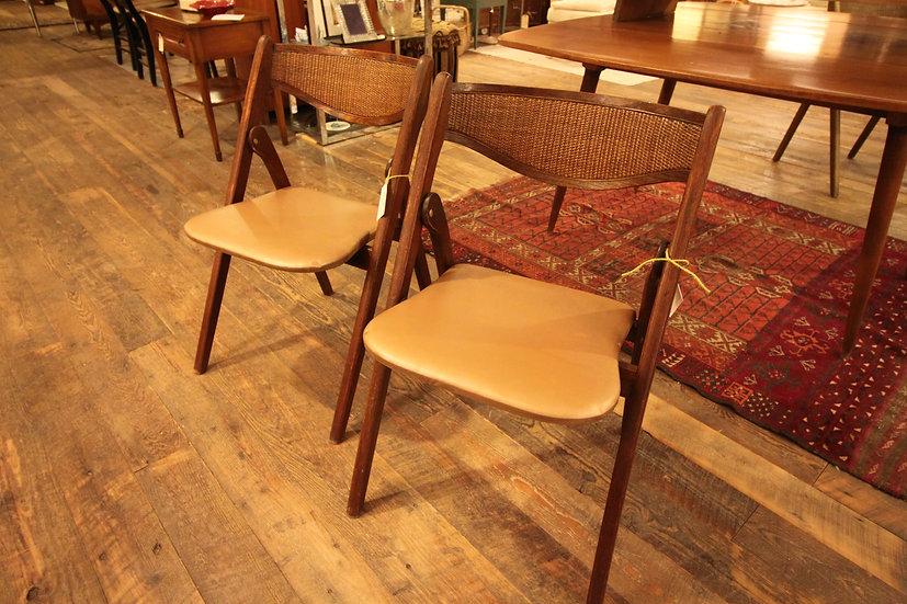 Mid-Century Folding Chairs
