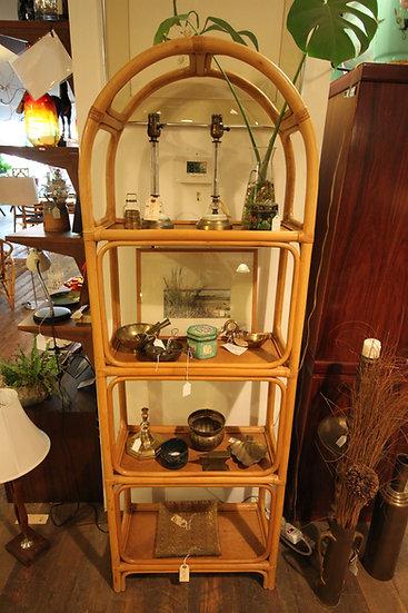 SOLD Rattan Shelf