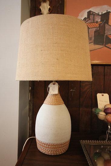 SOLD - Ceramic Mid-Century Lamp
