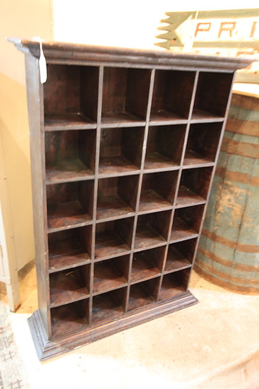 SOLD - Vintage Cubby Shelves