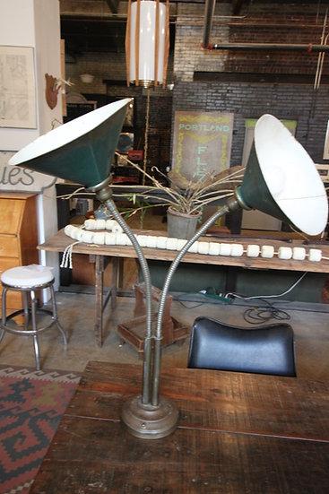 Double Gooseneck Lamp