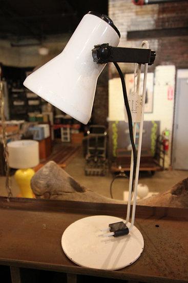 Vintage Enamel Lamp