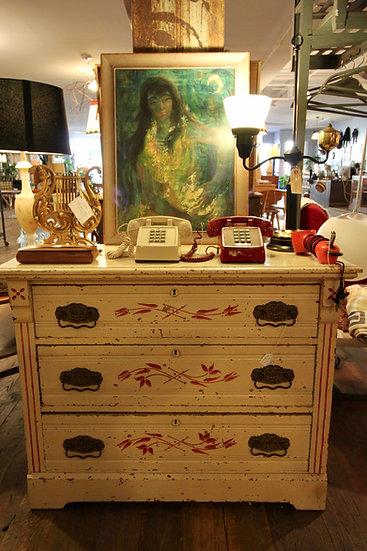 SOLD - Vintage Painted Dresser