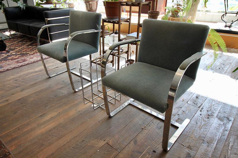 Pair Mid-Century BRNO Chairs