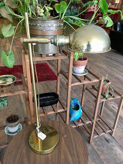 SOLD - Adjustable Brass Desk Lamp