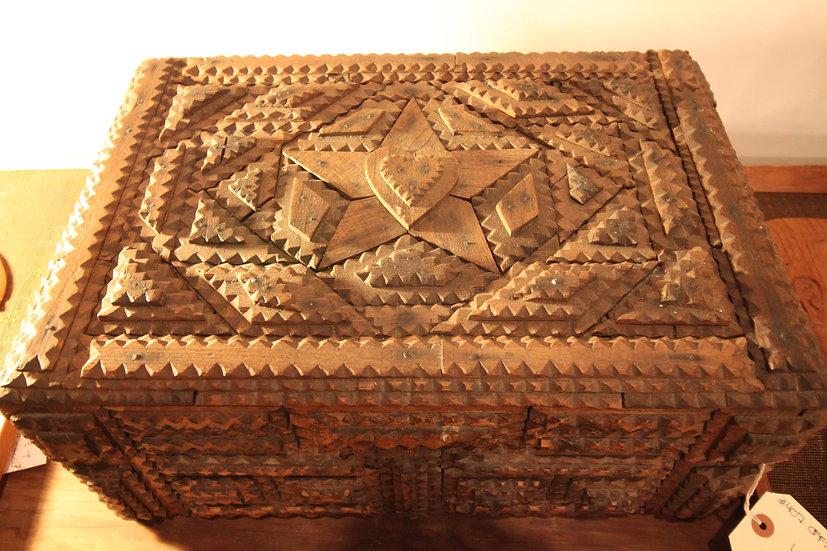 Large Tramp Art Box