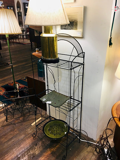Deco-Style Metal Folding Shelf