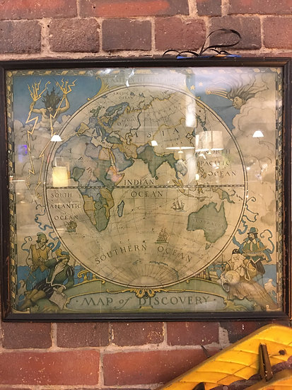 N.C. Wyeth Maps